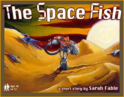 The Space Fish is a children's book cover.
