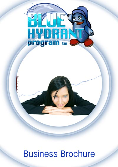 The Blue Hydrant website was released with two brochures.