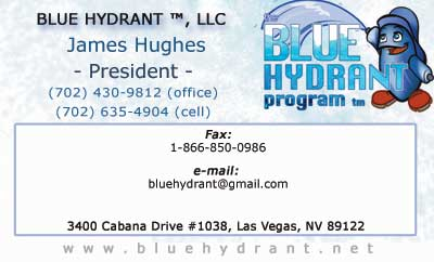 Professional business card design custom business card creation simple business card done for the blue hydrant program reheart Choice Image