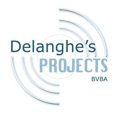 A logo created for Delanghes Projects, a local business specialising in the training of music software.