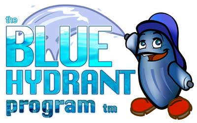 The company logo of The Blue Hydrant Program.