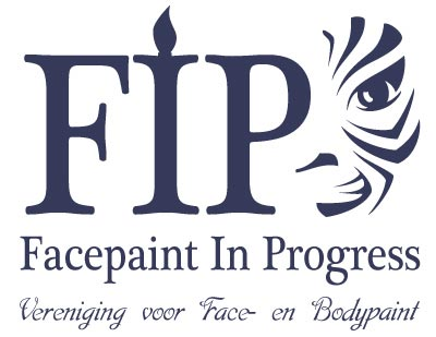 Logo for face and body paint federation.