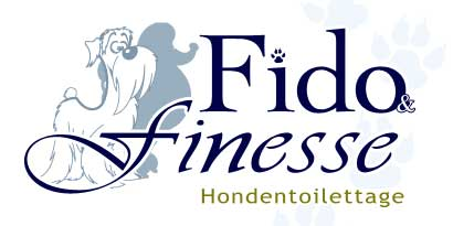 Logo design for dog salon, Fido and Finesse