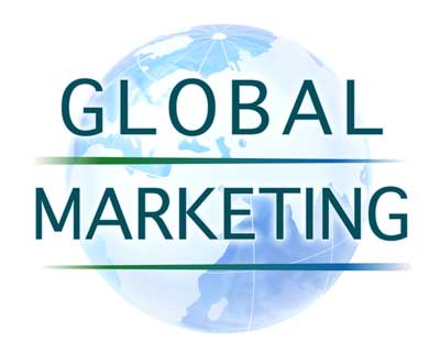 Logo design for Brussels based marketing firm, Global Marketing.