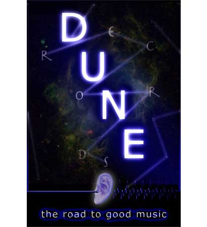 Poster designed for Dune Records.