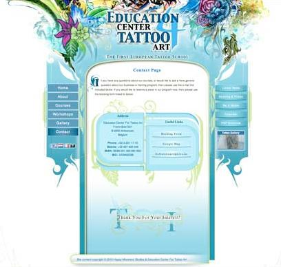 tattoo website example 4