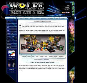 Website for Wolfe FX Europe. The site was put online 2010.