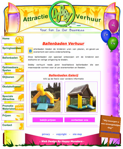 business website example 2